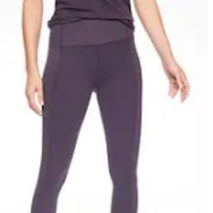 Barre Rib Tight In Powervita Regal Plum LIKE NEW!